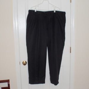 men's black pants